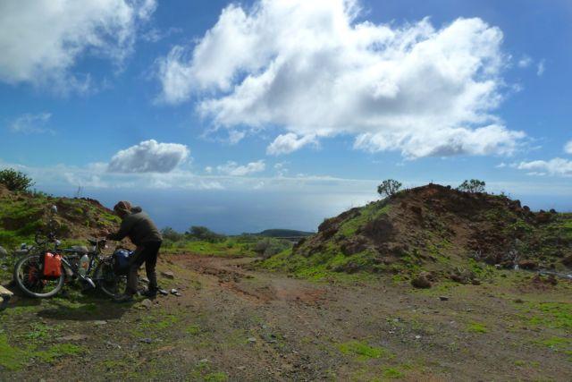 Fast ganz oben auf Gomera