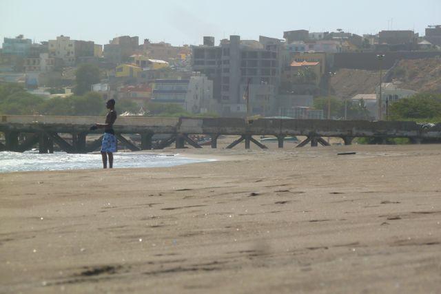 Strand auf Santiago