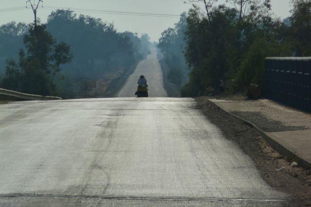 Still on the road