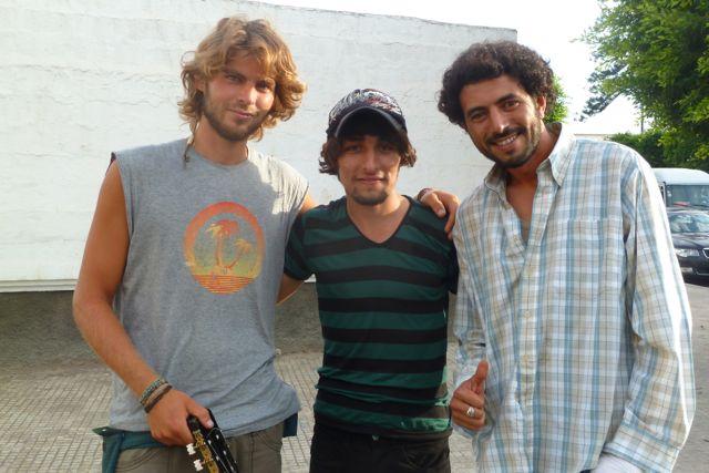 Jo's Musikbekanntschaften aus Rabat
